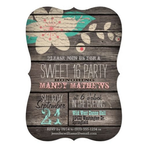 1000+ Ideas About Sweet 16 Parties On Pinterest