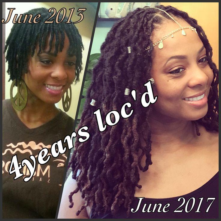 June 2nd my loc anniversary 4 years on my journey!!! #loc #locjourney #locs