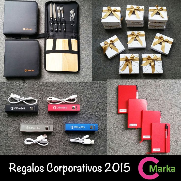 CMarka - Regalos corporativos 2015. Chile