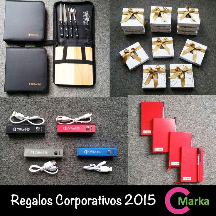 CMarka - Regalos corporativos 2015. Chile