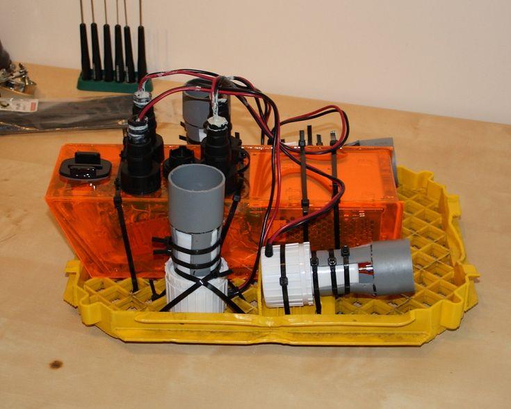 Nkken 3 ROV Underwater Exploration Vehicle DIY