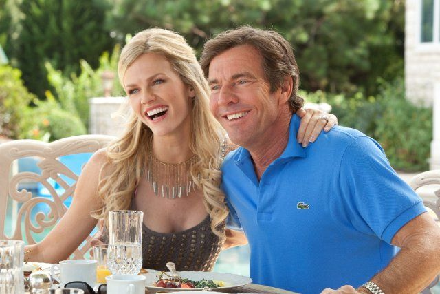 Still of Dennis Quaid and Brooklyn Decker in What to Expect When You're Expecting