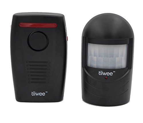 tiiwee  Wireless Motion Sensor Driveway Chime Alarm Alert - Home Security - Battery Powered - New Black Des No description (Barcode EAN = 0637028831745). http://www.comparestoreprices.co.uk/january-2017-2/tiiwee-wireless-motion-sensor-driveway-chime-alarm-alert--home-security--battery-powered--new-black-des.asp