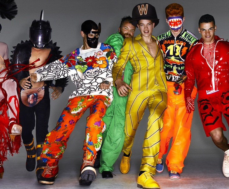 Fashion film immortalising Walter Van Beirendonck's in 2011, by Nick Knight and stylist Simon Foxton.