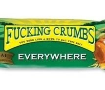 Effing Crumbs Everywhere... the truth about Nature Valley Crunch Bars