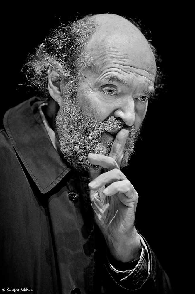 Arvo Pärt (b. 1935), Estonian composer of classical and sacred music // Photo by Kaupo Kikkas