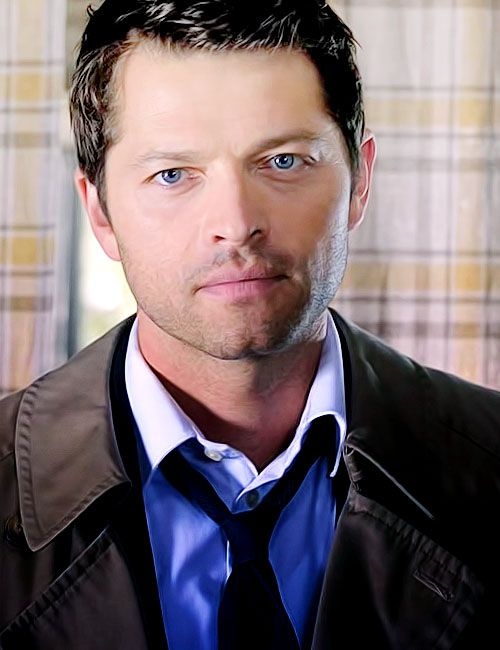 pretty castiel he s not too bad either great actor and not hard on