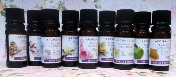 Fragranze di Aroma Zone per cosmetici fai da te - recensione