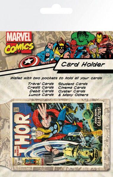 Marvel Thor Retro - okładki na dokumenty i karty