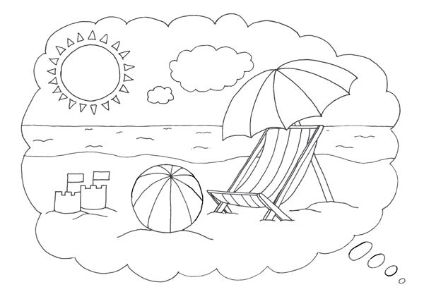 Free seaside coloring pictures google search caro for Seaside coloring pages