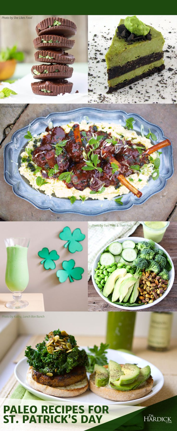 ICYMI...check out my summary of paleo recipes for healthy Irish dishes such as corned beef, cabbage, soda bread, colcannon, shepherd's (cottage) pie, and of course, delicious desserts!