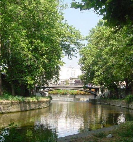 Trikala, Greece - A river runs through it.