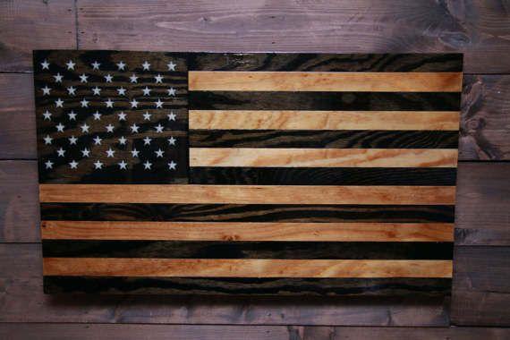 Tactical American  American Flag  Military Veteran Made