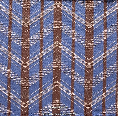chevron furnishing fabric, by Enid Marx (1902-98)