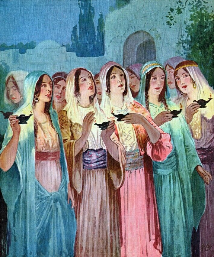 57 Best Images About Parable Of Ten Virgins On Pinterest