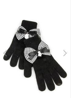 ekose fiyonk siyah eldiven