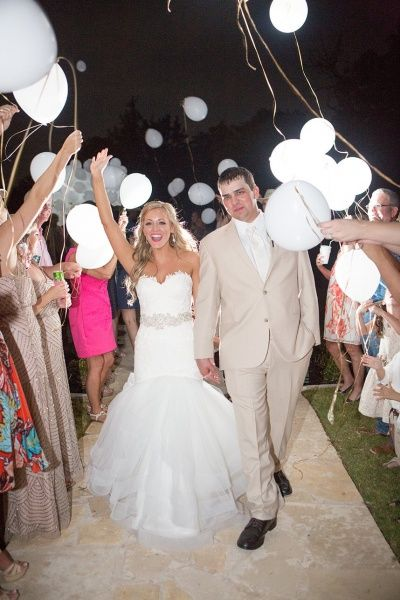 Light Up Balloon Send Off Not Released Quirky Cool Celestial Wedding Pinterest Weddings
