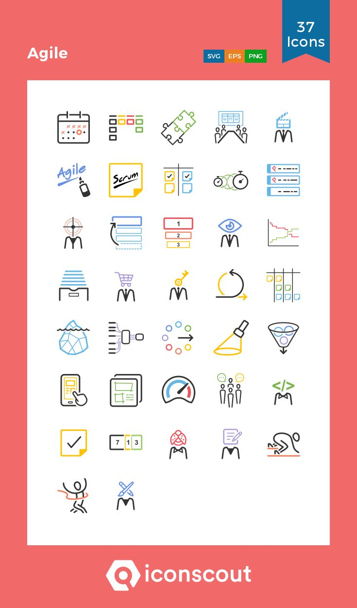 Download Agile Icon Pack Available In Svg Png Eps Ai Icon Fonts Icon Pack Icon Icon Font