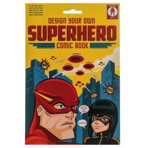 Design Your Own Superhero Comic Book - gifts for children