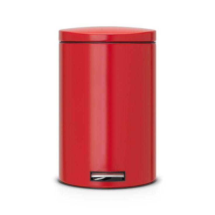 Brabantia Cubo Bio Silent Cubo de basura Bio Silent de 30 L de Brabantia. Espectacular color rojo pasión. Decorar tus rincones de cocina o de baño con piezas...