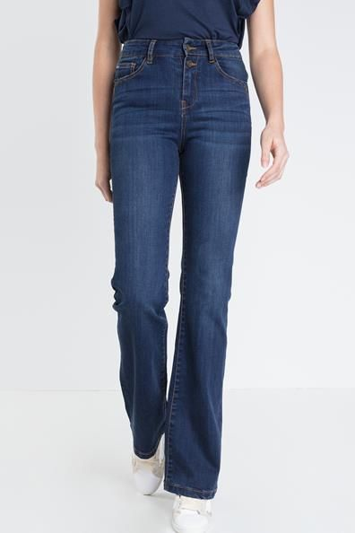 a9fe23e9ee5f7 Jeans bootcut femme taille haute used | Shopping list ! | Jean ...