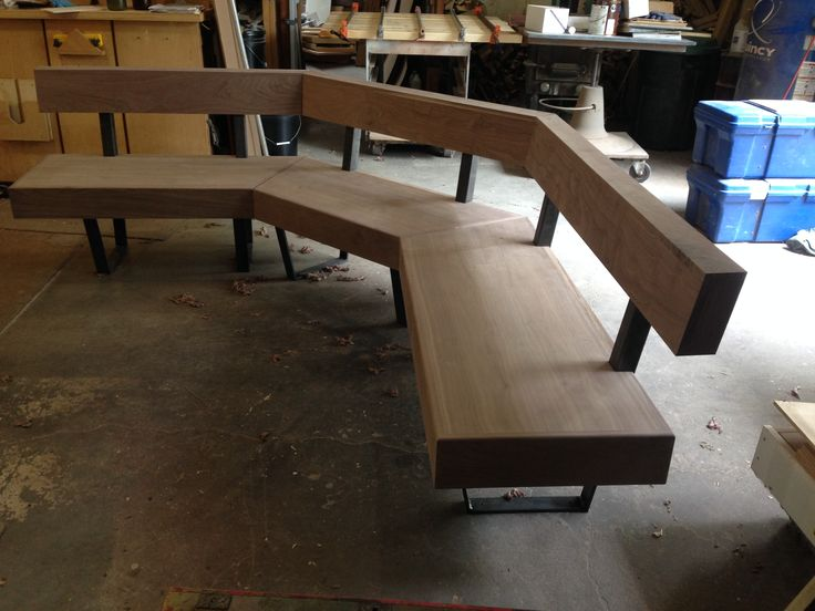 Walnut bench | WoodShop Artisans