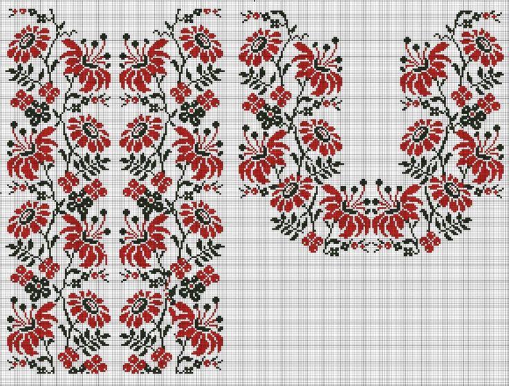 Ukrainian vyshyvanka pattern