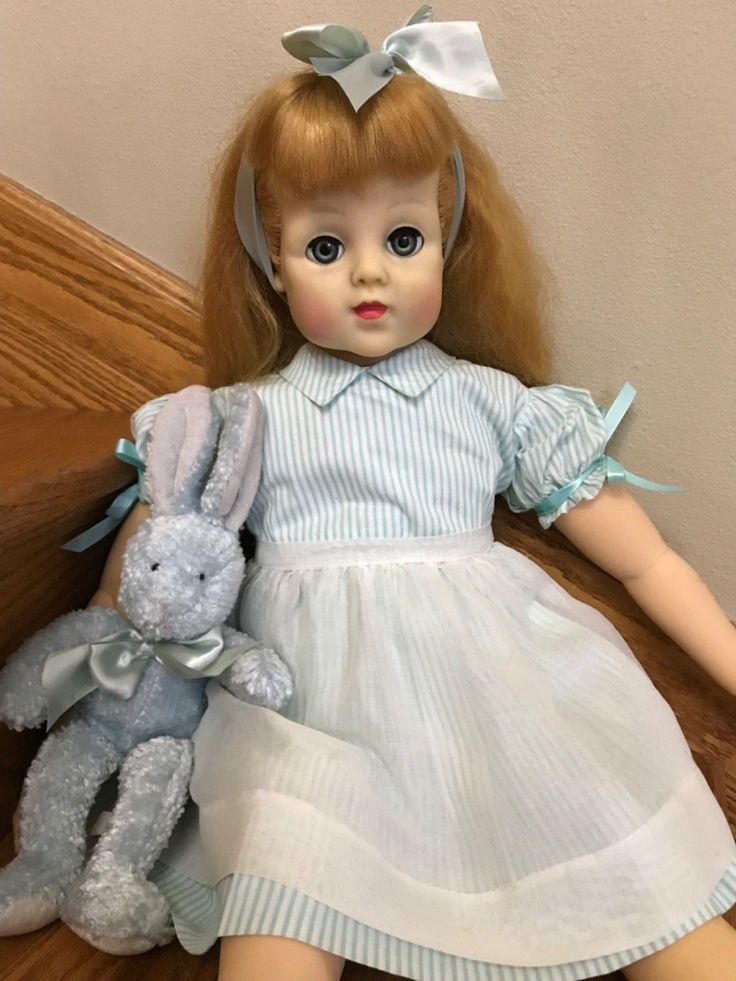 "Vintage 1952 Madame Alexander RARE 28"" 29"" Barbara Jane playpal doll made 1 year 