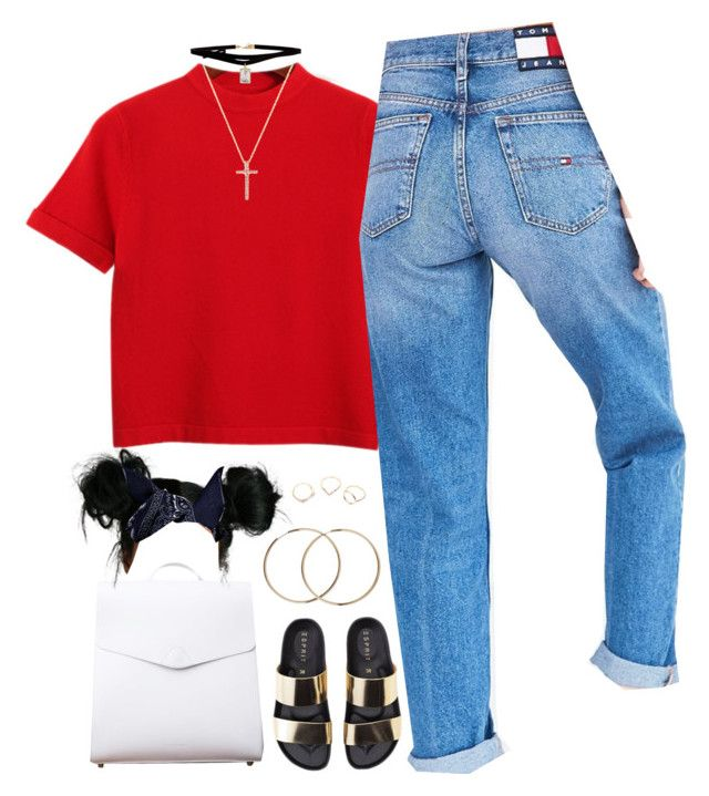 """Pipe Down"" by oh-aurora ❤ liked on Polyvore featuring Chicnova Fashion, Tommy Hilfiger, Vere Verto, Boohoo, ASOS, Kenzo and Nephora"