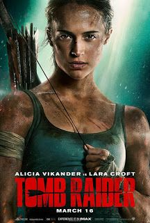 Tomb raider lara croft 2018 new movie released date will be on 16 march 2018, film stars Alicia Vikander as lara croft. find more details with https://upcoming-movie-stories.blogspot.com
