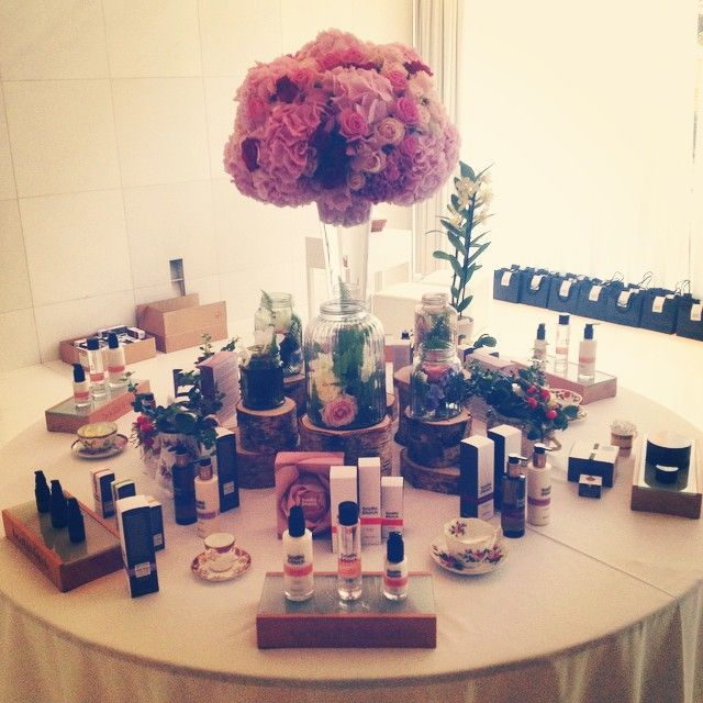 Bodhi & Birch Rosa Rosa Launch Party #skincare #beauty #rosarosa