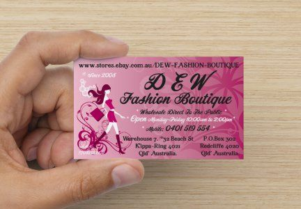 Personalise Your Premium Business Card