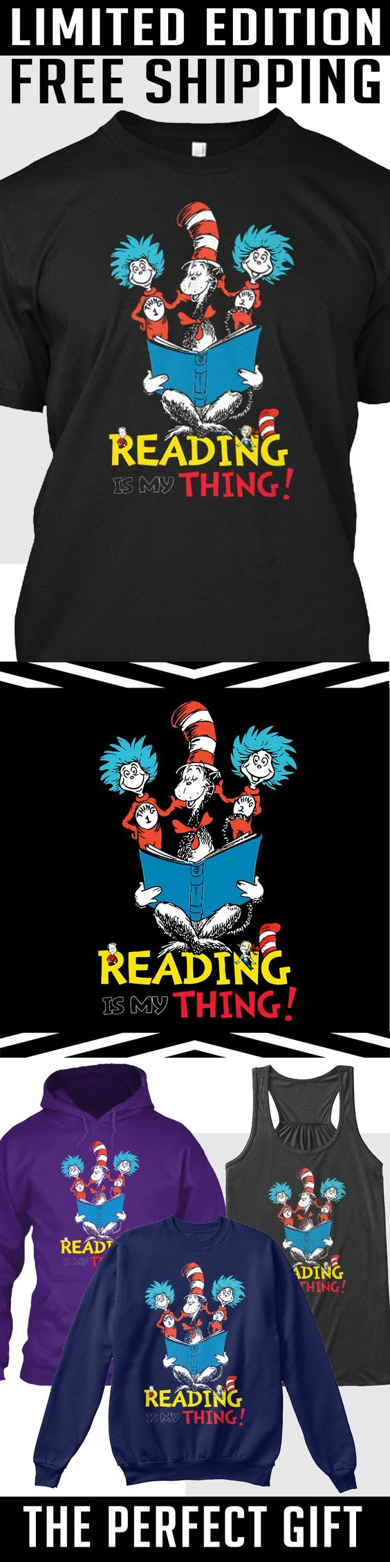 Reading Across America - Limited Edition. Only 2 days left for free shipping, get it now!