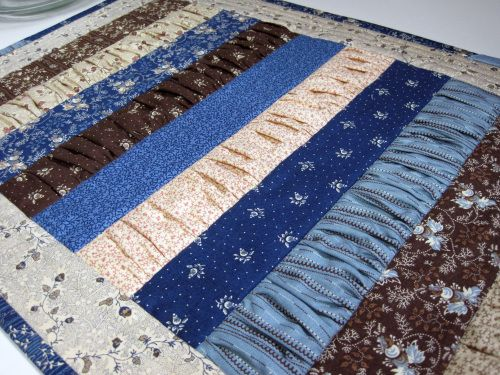 260 best Quilts: Dimensional Applique images on Pinterest | Crafts ... : gathered quilt - Adamdwight.com
