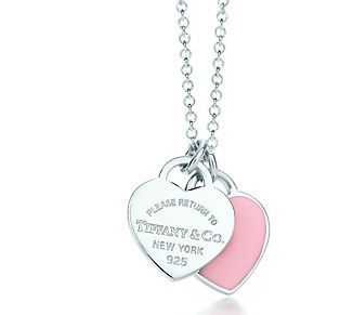 Tiffany & Co. return to Tiffany - pink heart!