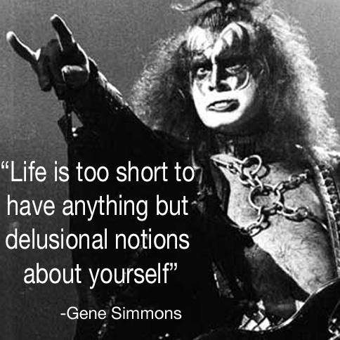 Inspiration  #schoolofrock #inspriation #quotes #rockandroll #genesimmons #kiss #livemusic #doylestown #buckscounty
