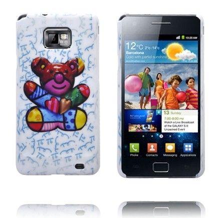 Cute (Nalle Karhu) Samsung Galaxy S2 Suojakuori
