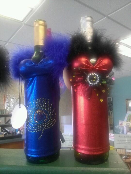 Wine bottle dresses.