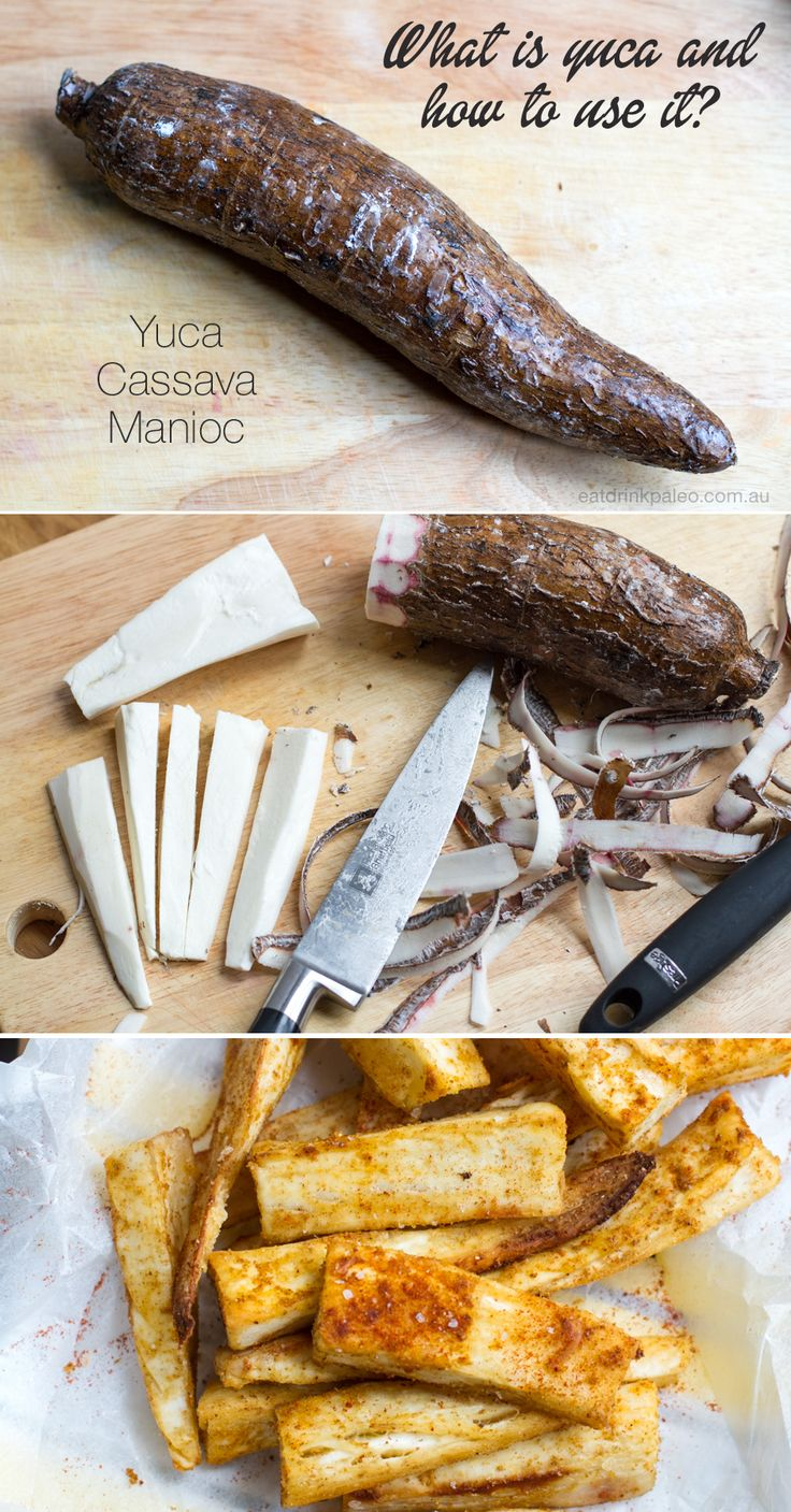 What is yuca/cassava and how to use it in the kitchen? Check out this guide to yuca here: http://eatdrinkpaleo.com.au/yucca-aka-cassava-use/