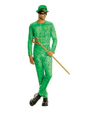 #Adult batman the riddler fancy dress #costume superhero dc #comics male,  View more on the LINK: http://www.zeppy.io/product/gb/2/321937398801/