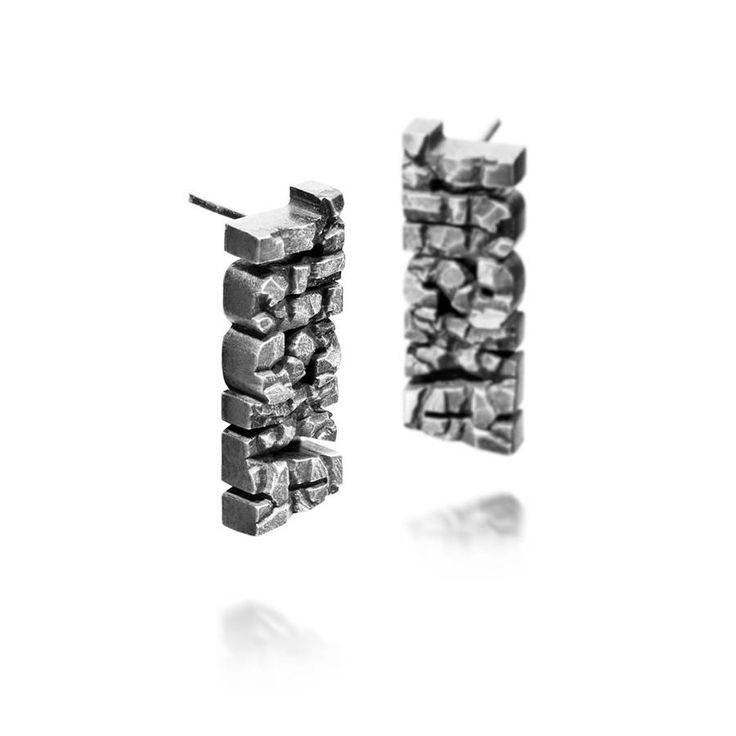 Tuska stud earrings by HeidiVornan on Etsy