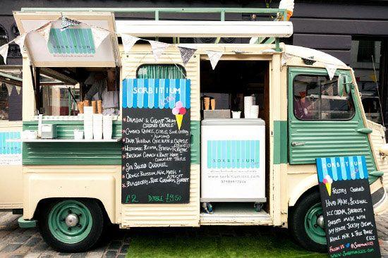 Food van, canopy design
