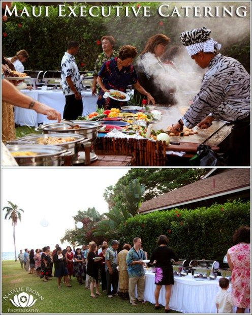 Sample Catering Menu by Maui Executive Catering