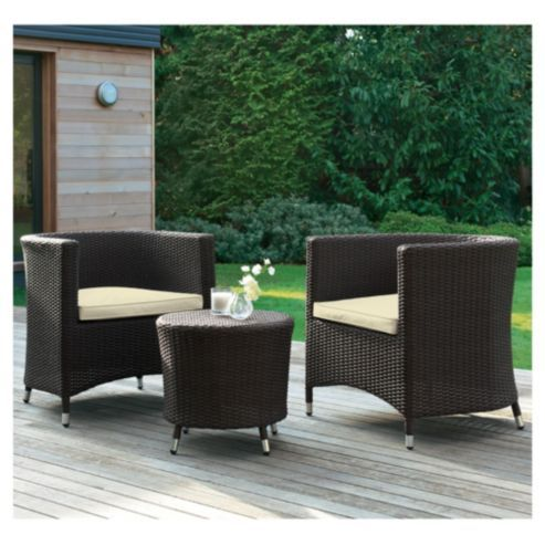 buy santo table 2 tub chairs patio furniture set from our conservatory furniture sets range - Garden Furniture The Range
