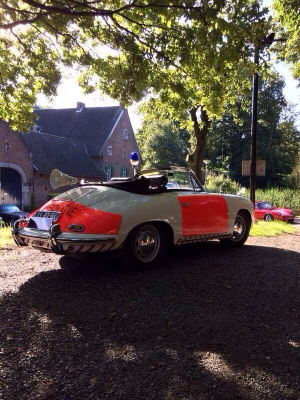 Old Dutch police Porsche