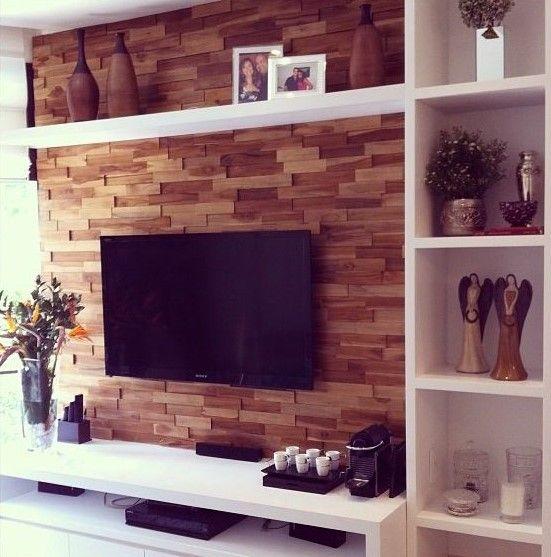 Interior Design Ideas For Home Theater: +1000 Ideias Sobre Prateleiras De Parede Tv No Pinterest