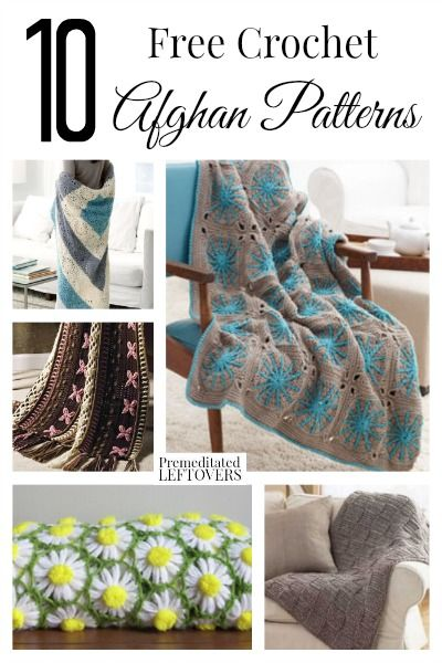 10 Free Crochet Afghan Patterns Crochet projects ...