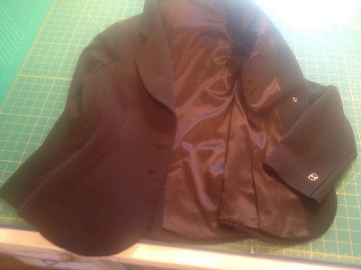hand finished silk lining in wood jacket