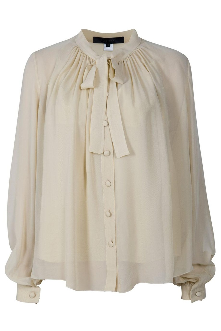Chiffon Blouse By ELIE SAAB @ http://www.boutique1.com/