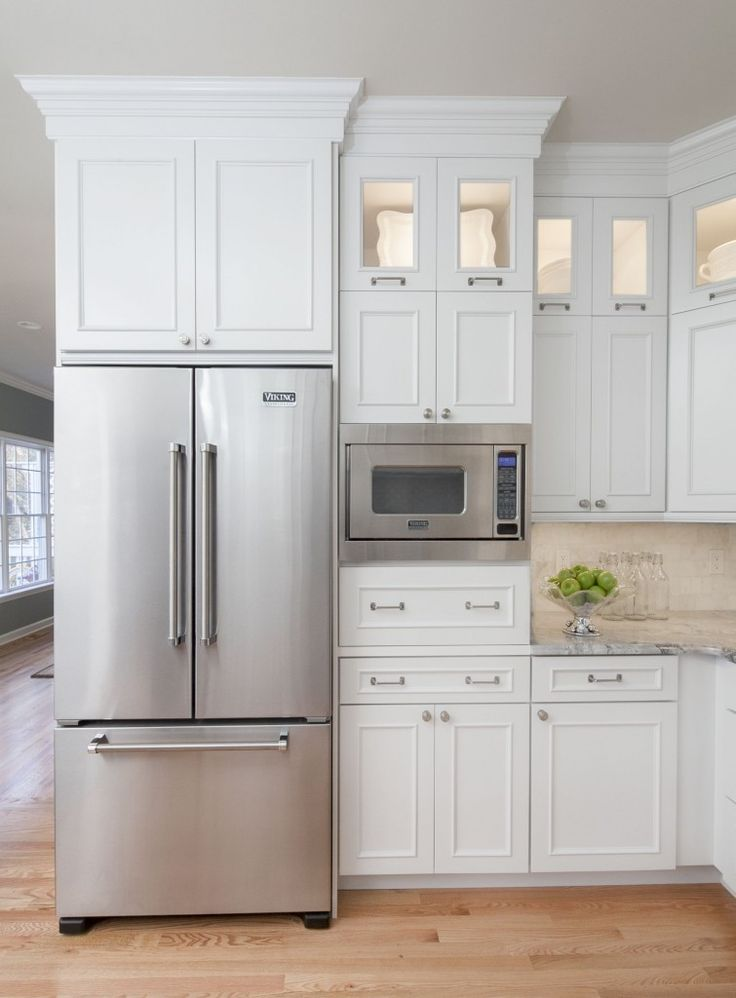 Idea For Building Microwave In After We Move The Stove Traditional Kitchen By Hartley And Hill Design
